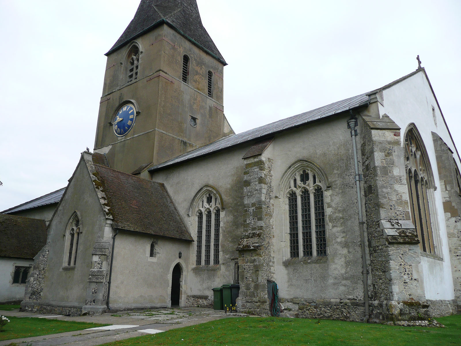 The Church of St Lawrence.