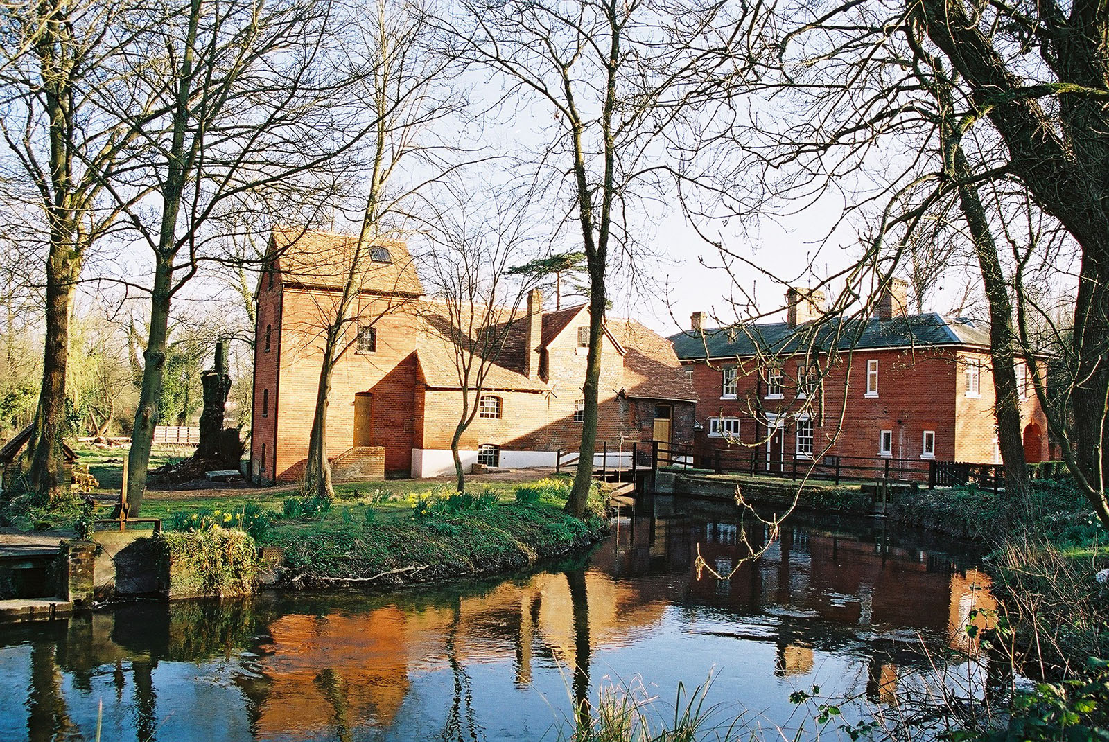 Rooksbury Mill & Mill House in Andover.