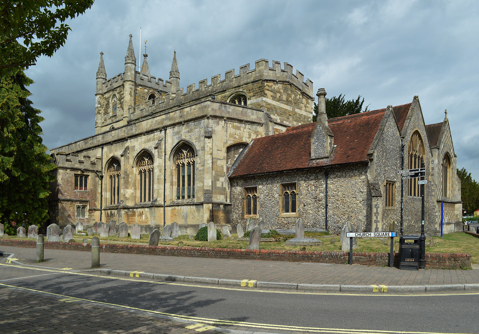 St Marys Parish Church in Andover.