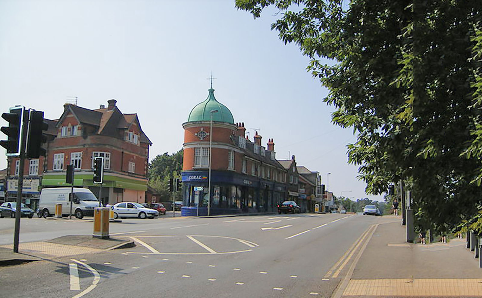 Bordon high street.