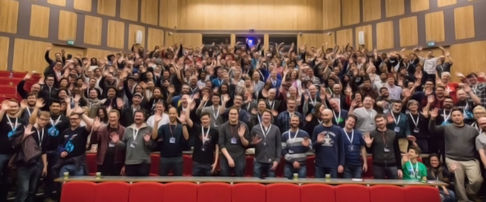 The attendees of DrupalCamp London 2016.