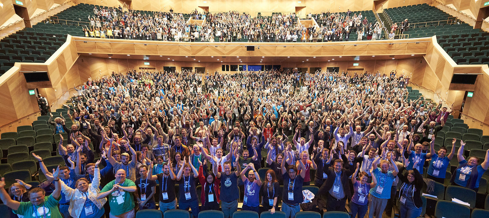 DrupalCon Dublin 2016 Official Group Photo.