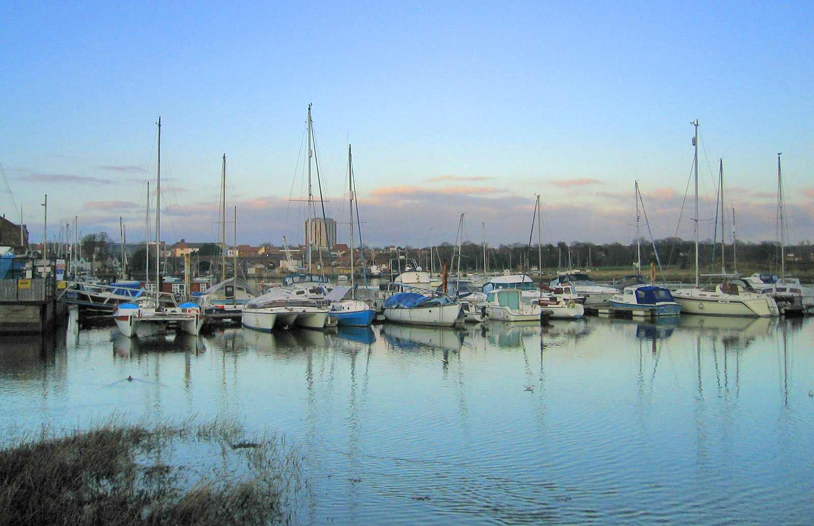 Fareham Creek in Hampshire.