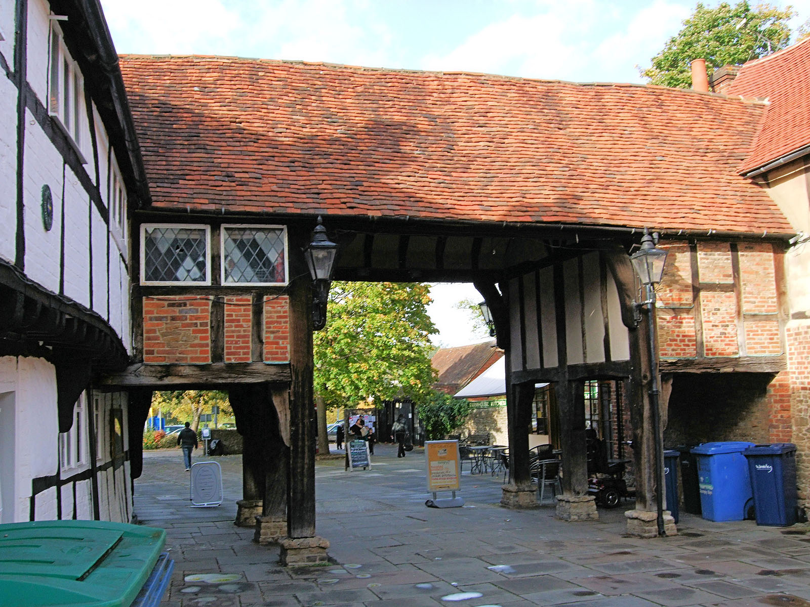 Tudor Buildings In Godalming.