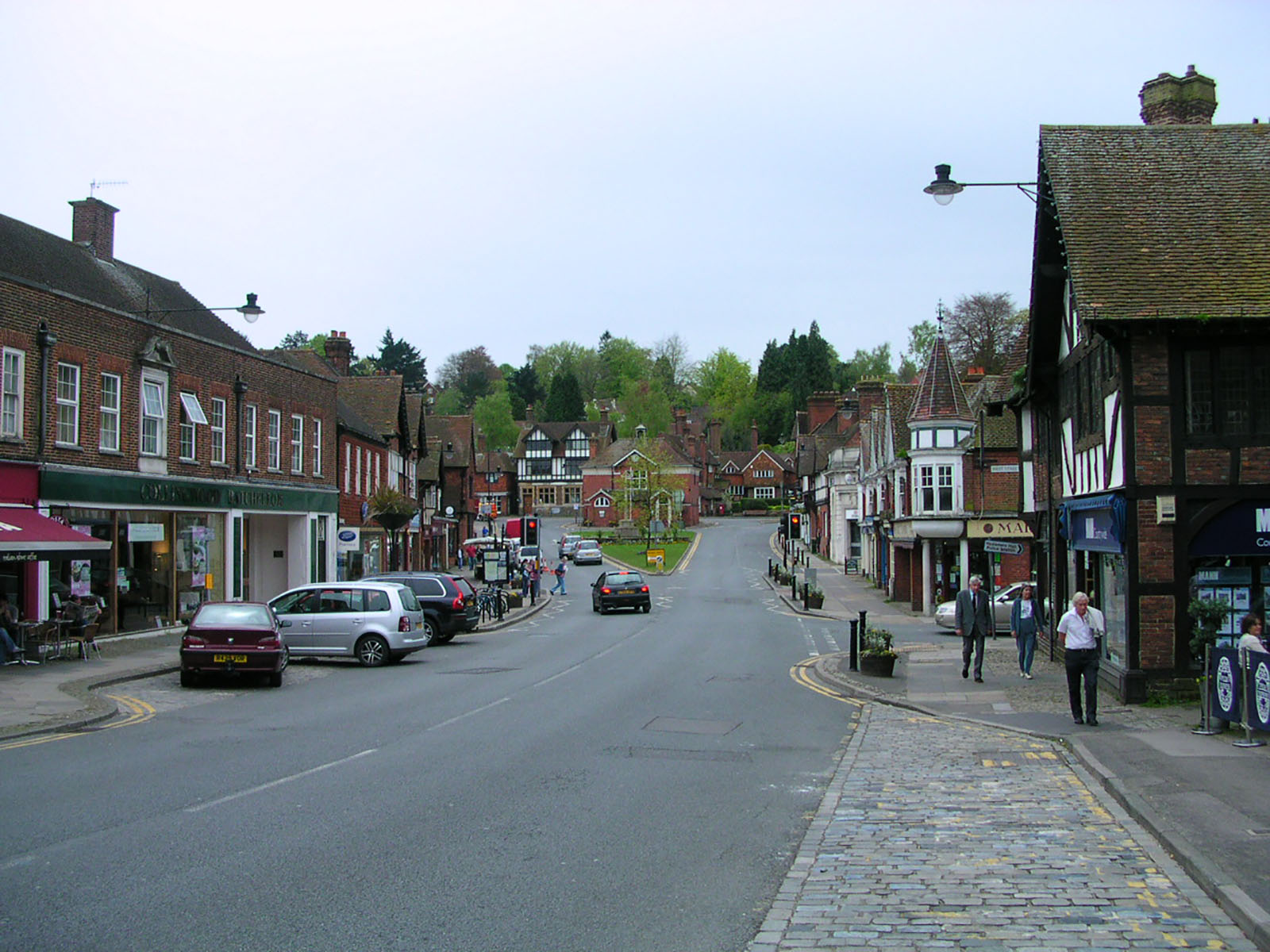 Haslemere High Street.