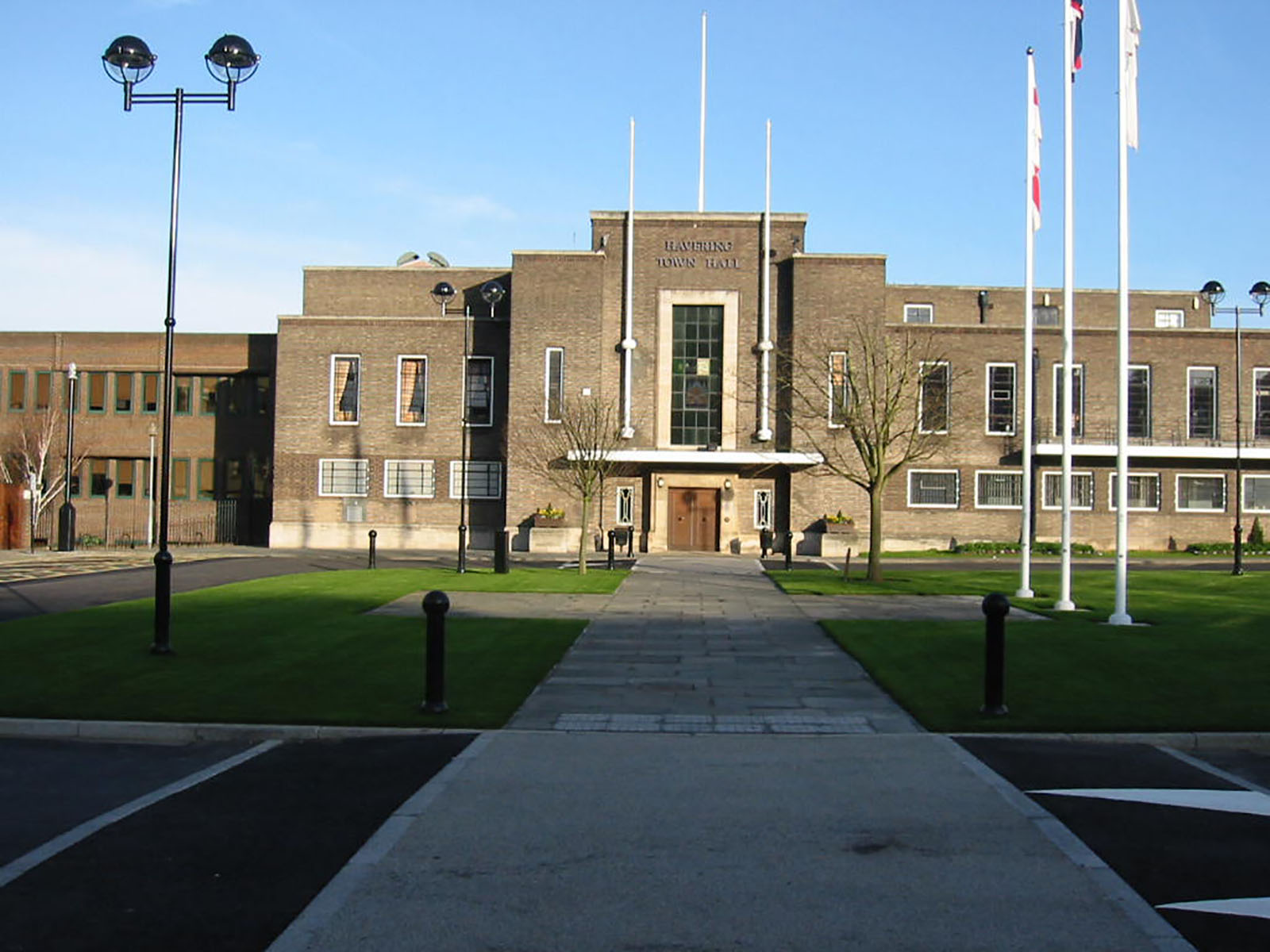 Town Hall of Havering London Borough Council.