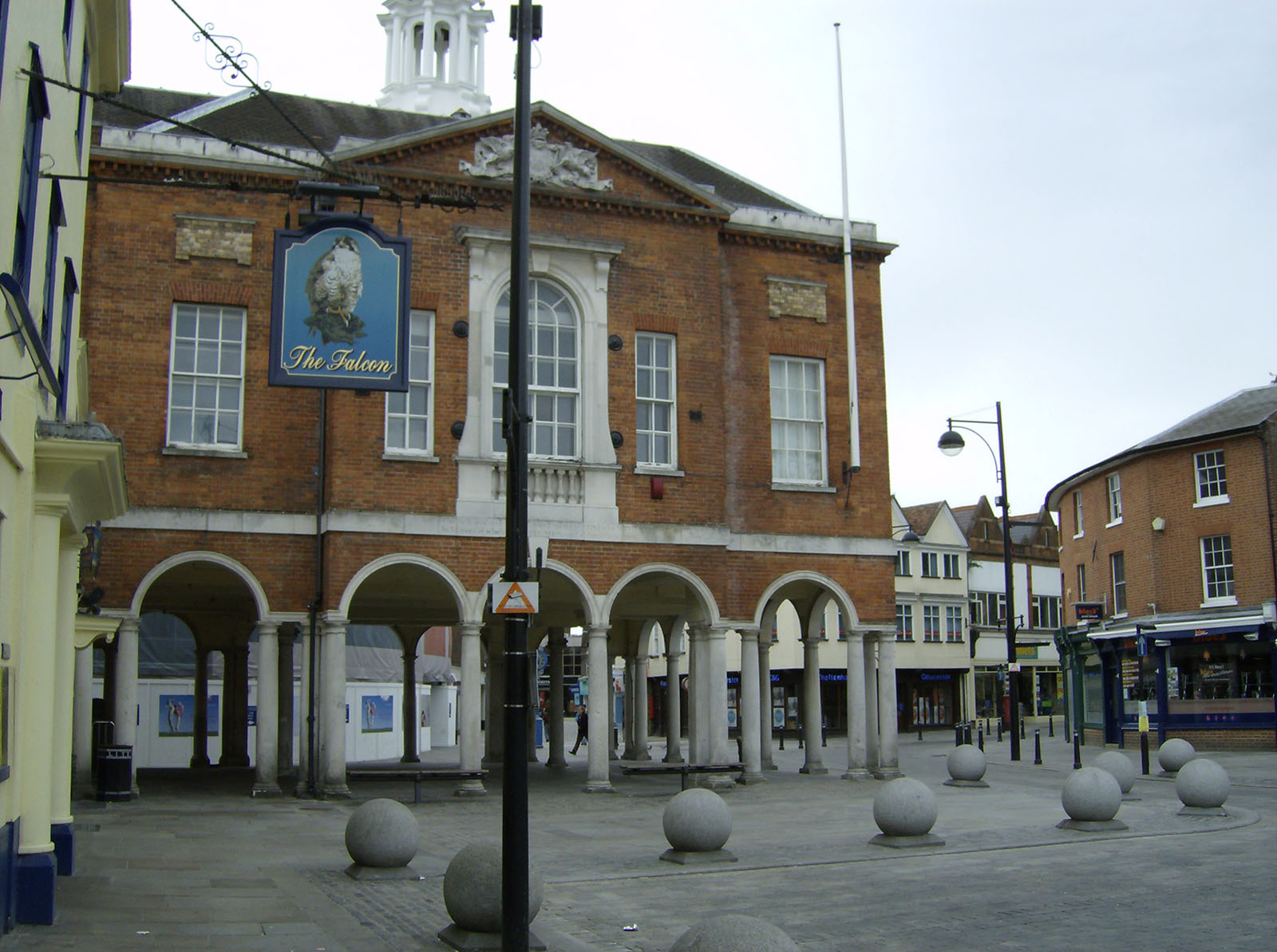High Wycombe Guildhall.