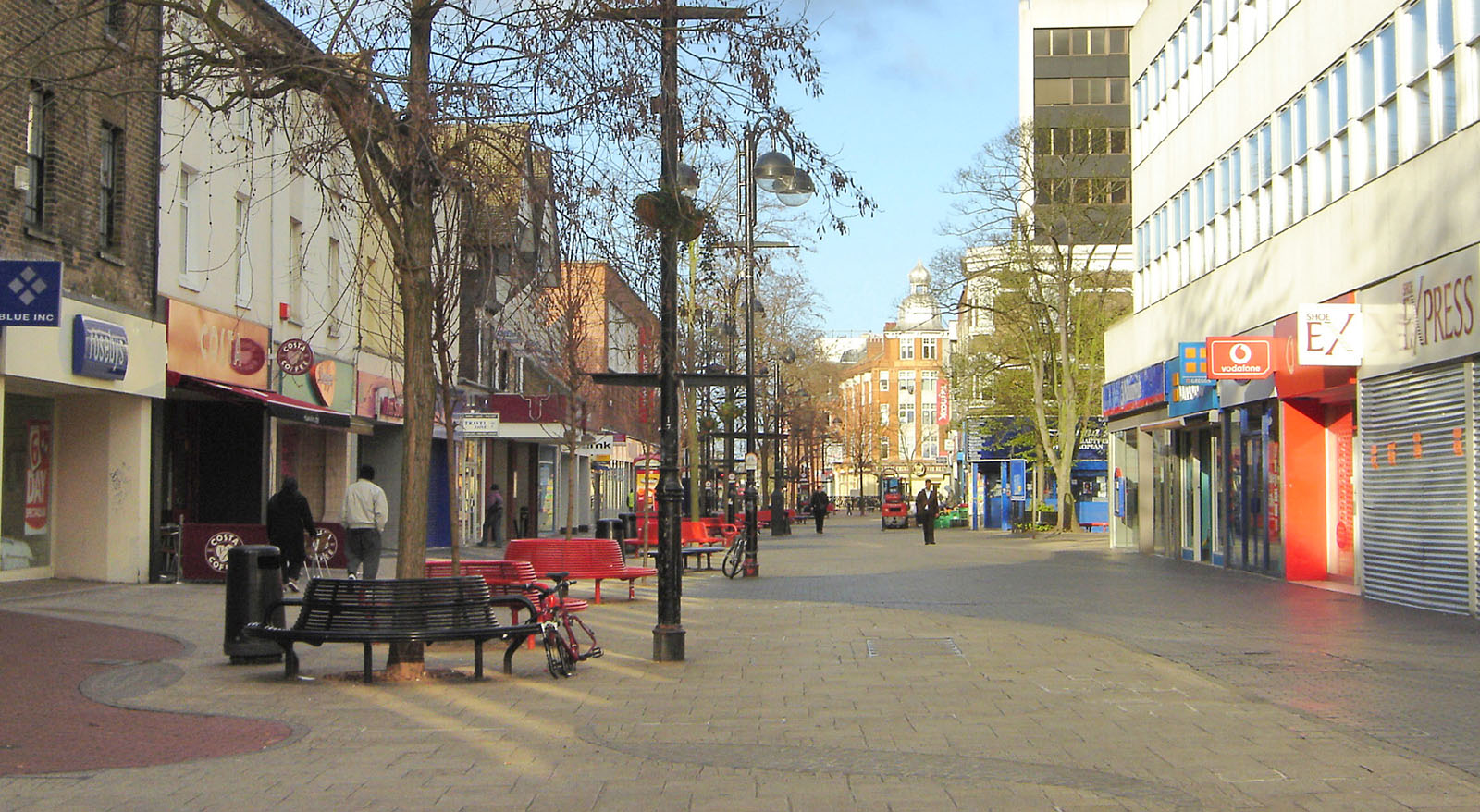 View of Hounslow High Street.