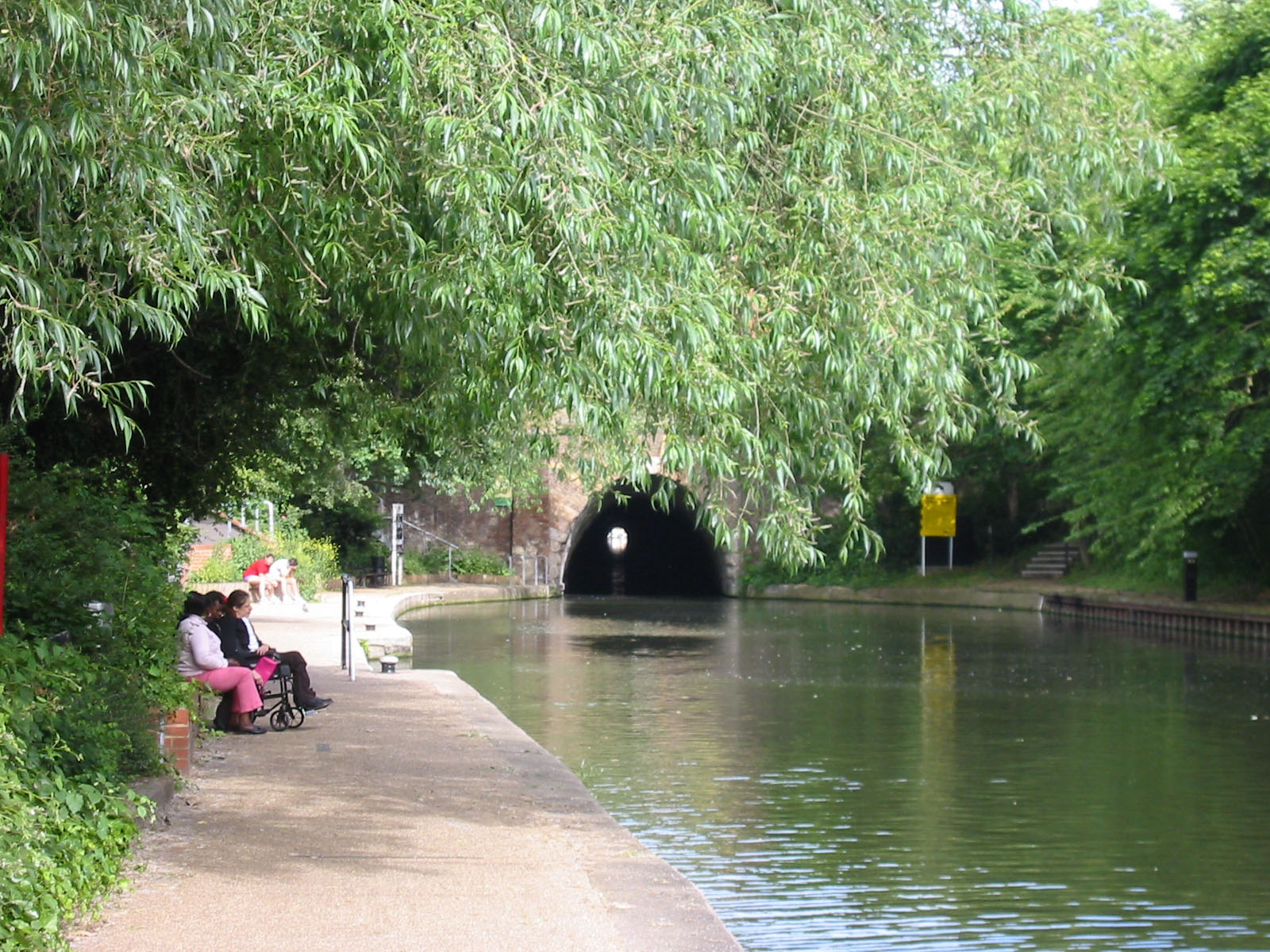 The Islington tunnel.