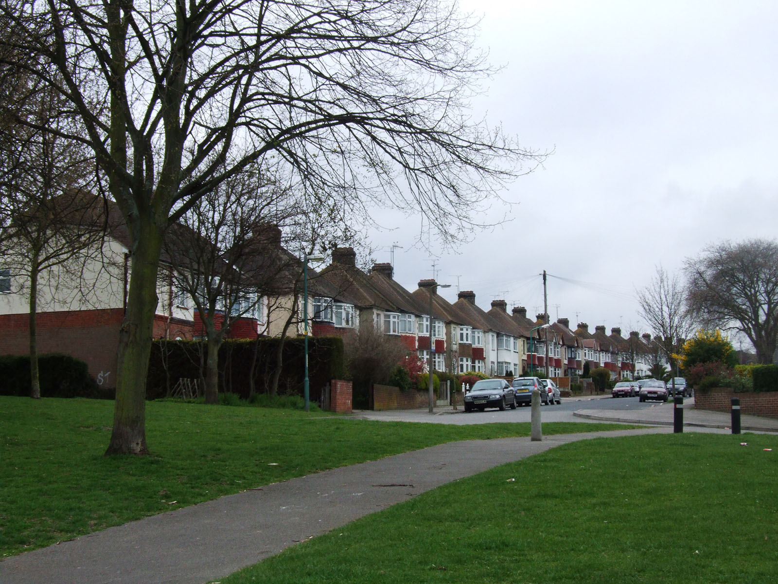 Hawthorn Avenue in Rainham, Medway.