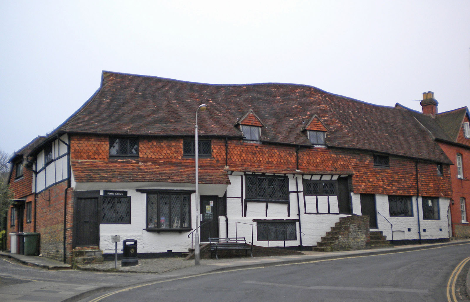 The library in Midhurst.