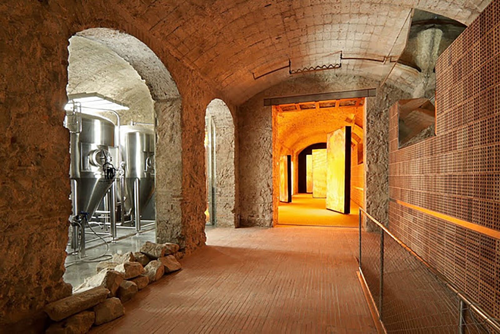 The Moritz restaurant and brewery situated in the heart of Barcelona.