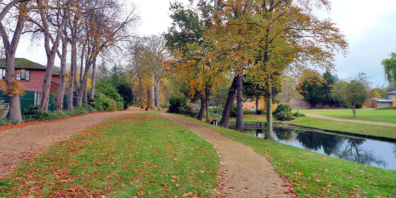 Valentines Park in London Borough of Redbridge.