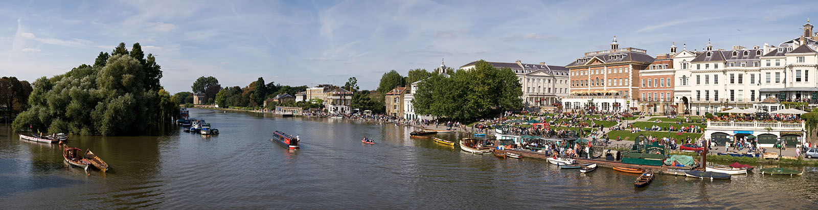 The Thames Riverside of Richmond, London.
