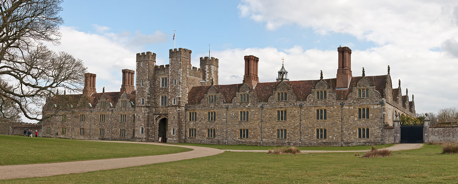 Knole House - an English country house in the civil parish of Sevenoaks.