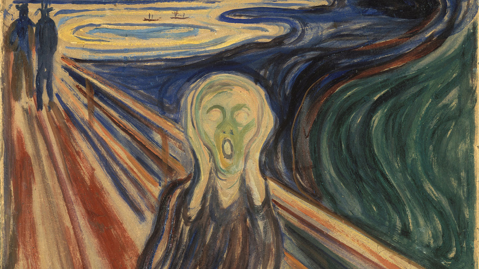 The Scream painting by Edvard Munch.