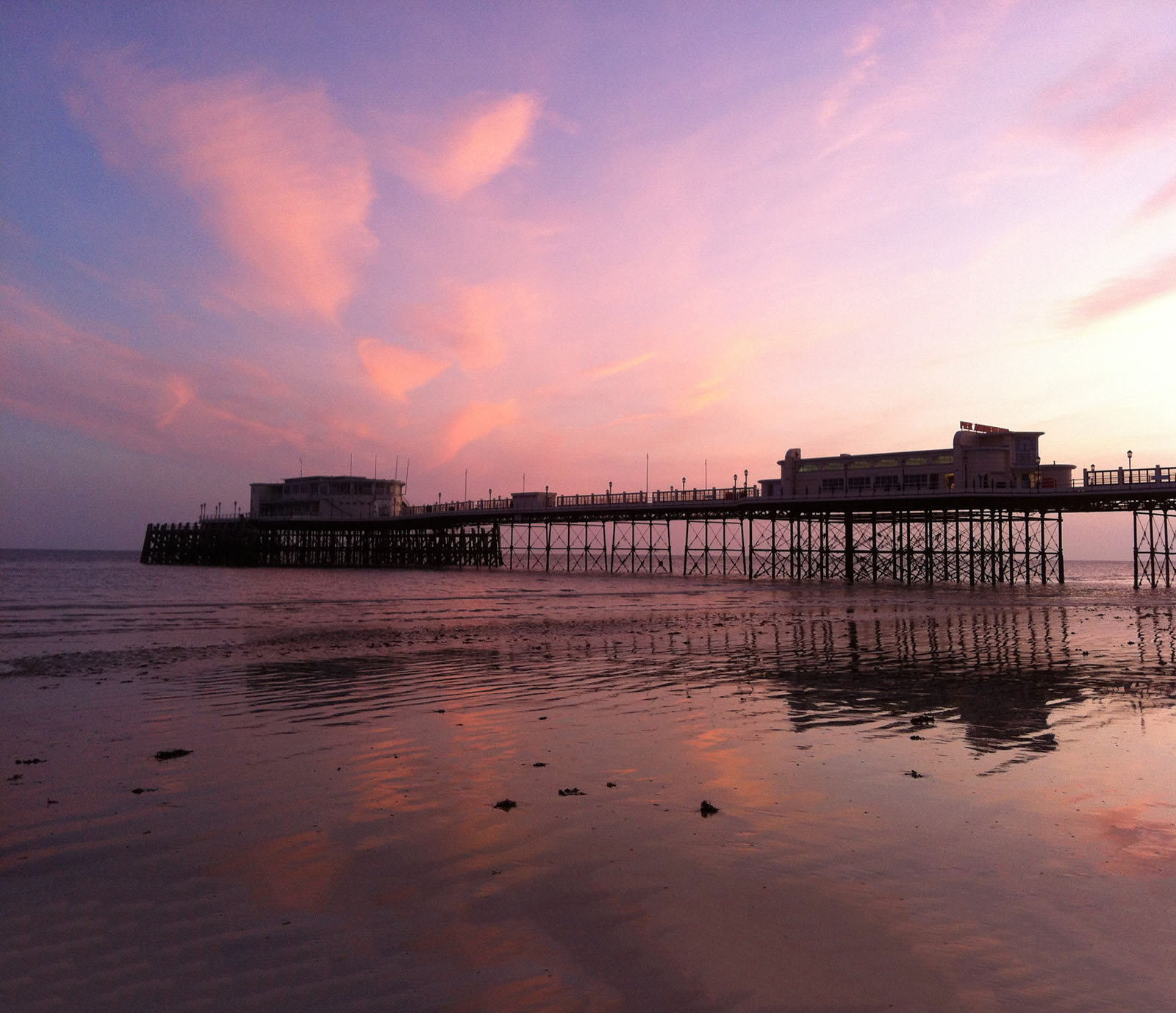 Worthing Pier, West Sussex.